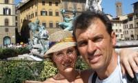 Albert and Vita in Italy